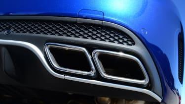 Mercedes-AMG C63 S - exhaust