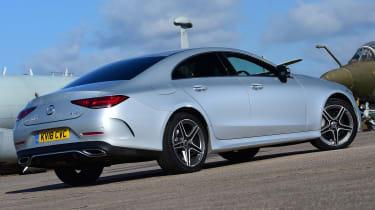 Mercedes CLS rear quarter static