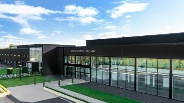 Aston Martin St Athan factory - exterior
