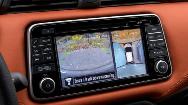 New Nissan Micra - reversing camera