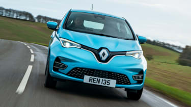 Renault Zoe - front tracking