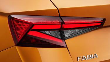 Skoda Fabia 2021 - brake light