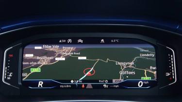 Volkswagen T-Roc R - digital cockpit