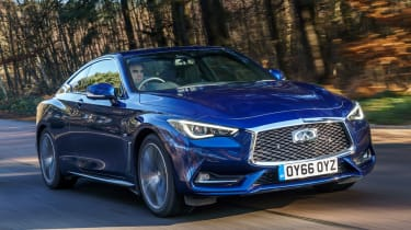Infiniti Q60 - front action