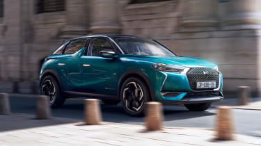 DS 3 Crossback - front action