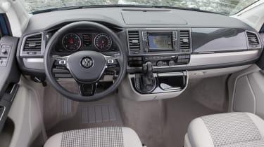 Volkswagen California T6 interior