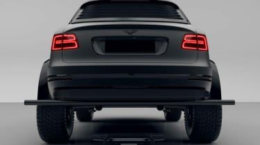 Bentley Bentayga Bengala - rear static