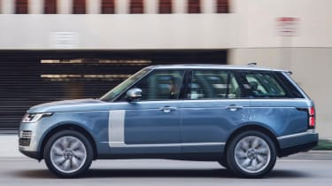 New Range Rover PHEV 2017 review - side profile