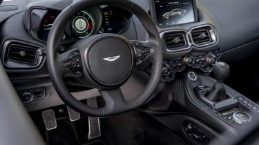 Aston Martin Vantage AMR - steering wheel