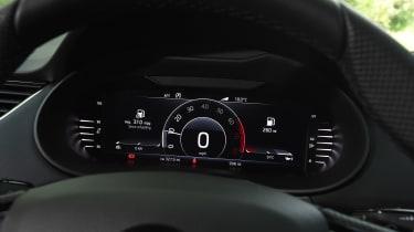 Skoda Octavia Sportline - dials