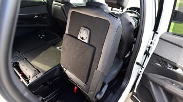 Peugeot 5008 - middle seat folded