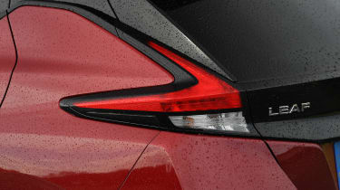 Nissan Leaf - rear lights