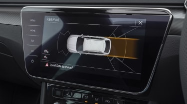 Skoda Superb - parking assist