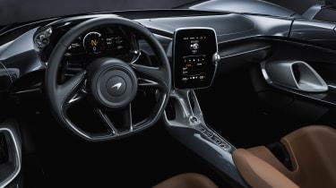 McLaren Elva - dash