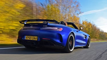 Mercedes-AMG GT R Roadster - rear tracking