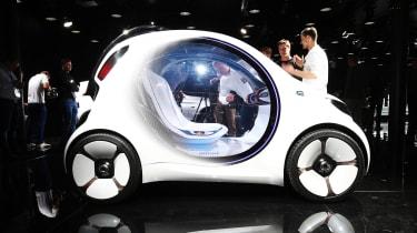 Smart Vision EQ ForFour concept - Frankfurt side