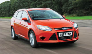 Ford Focus Estate Edge Econetic 88g 2013 front tracking