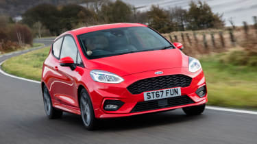 New Ford Fiesta ST-Line - front tracking