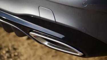 Mercedes SL 400 - exhaust