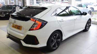 Honda Civic long-term review - rear