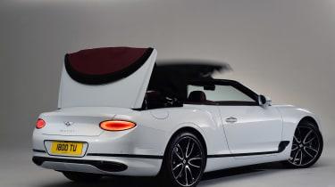 Bentley Continental GTC - studio roof closing