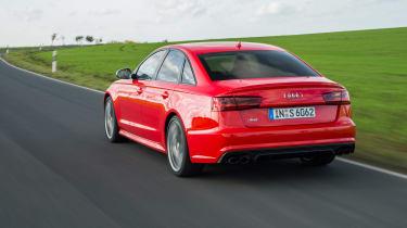 Audi S6 saloon 2014 rear