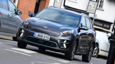 Kia e-Niro long termer - first report front action