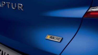 Renault Captur R.S. Line - rear badge