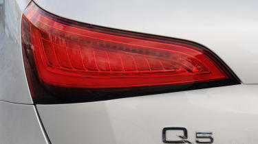 Audi Q5 light detail