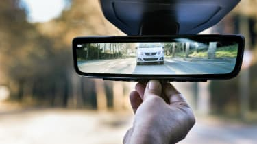 SEAT Leon Cristobal - rear view mirror
