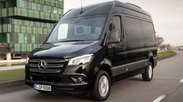 Mercedes Sprinter - tracking