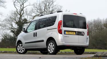 Fiat Doblo Cargo Combi - rear