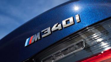 BMW M340i xDrive - M340i badge