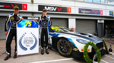 British GT 2018 - Flick Haigh and Johnny Adam