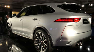 Jaguar F-Pace SVR - launch rear static