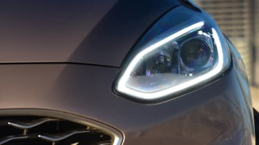 Ford Fiesta Vignale headlight