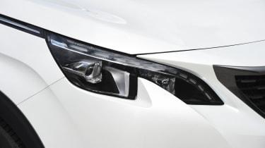 Peugeot 5008 long-term test - headlight