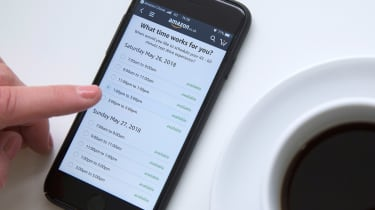 Volvo Amazon Prime - test drive booking