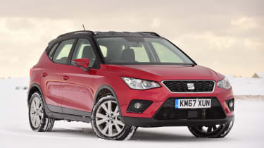 SEAT Arona - front static