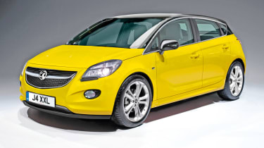 Vauxhall Corsa front render