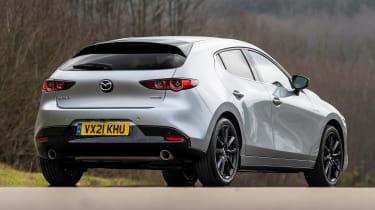 Mazda 3 e-SkyActiv X - rear static