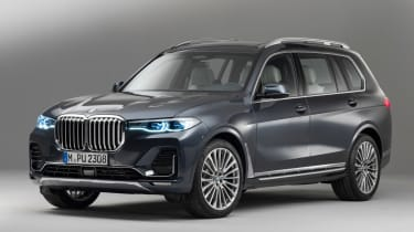 New BMW X7 studio shoot