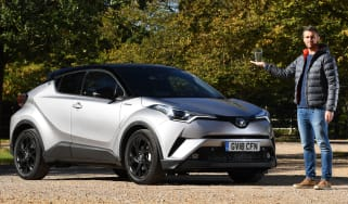 toyota c-hr long termer static