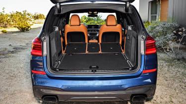 BMW X3 - boot seats down