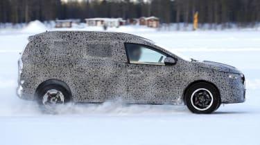 Dacia Lodgy MCV  - side shot
