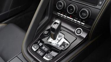 Jaguar F-Type 400 Sport - centre console