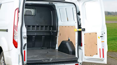 Ford Transit Custom Double-Cab - rear doors