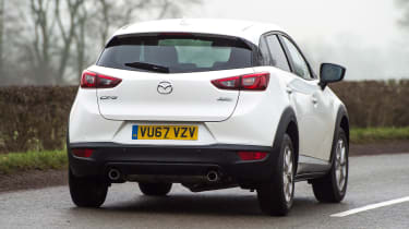 Mazda CX-3 - rear action