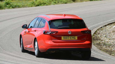 Vauxhall Insignia Sports Tourer - rear cornering