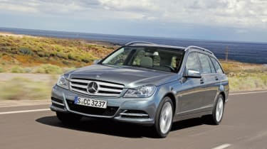 Mercedes C350 CDI Estate front